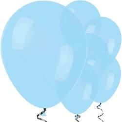 Parti Dünyası - Makaron Mavi 10 Lu latex Balon Normal Boy