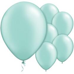 Parti Dünyası - Makaron Mint Yeşili 10 Lu latex Balon Küçük Boy