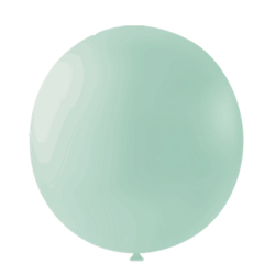Parti Dünyası - Makaron Mint Yeşili DEV Latex Balon 36 İnç 1 Adet