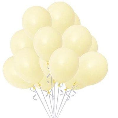 Makaron Sarı 10 Lu latex Balon Küçük Boy