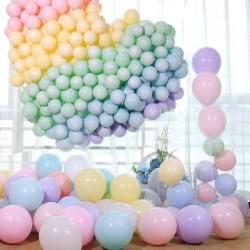 Parti Dünyası - Makaron Soft Renklerde DEV Latex Balon 36 İnç (1)