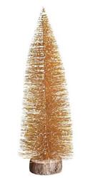 Parti Dünyası - Masa Üstü Dekoratif Çam Ağacı 30 cm Gold