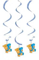 - Mavi Ayıcık Süs Dalgası 3 Adet
