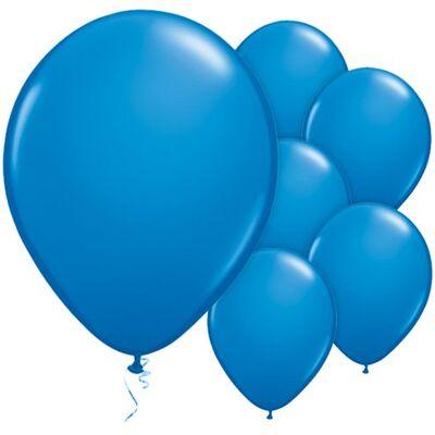 Lacivert Metalik 100 lü Balon