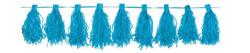 Parti Dünyası - Mavi Püskül Garlent 3 Metre