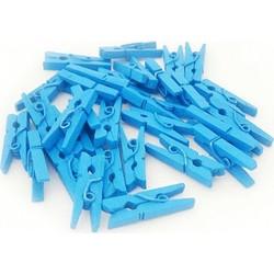 Parti - Mavi Renk Mini Mandal 10 Adet