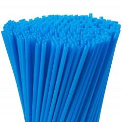 Parti Dünyası - Mavi Renk Pipet 100 Adet