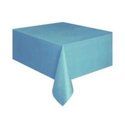 Parti Dünyası - Mavi Renk Plastik Masa Örtüsü137 x 183 cm