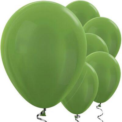 Metalik Fıstık Yeşili Balon 10 Adet