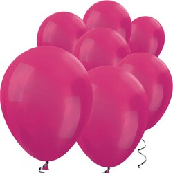 Parti Dünyası - Metalik Fuşya 100 Lü Latex Balon