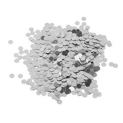 Parti Dünyası - Metalik Latex Balon Konfetisi Gümüş 20 Gr