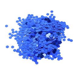 Parti Dünyası - Metalik Latex Balon Konfetisi Mavi 20 Gr