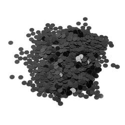 Parti Dünyası - Metalik Konfeti Siyah 20 Gr