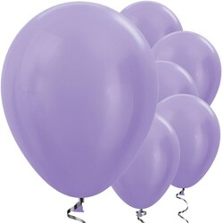 Parti Dünyası - Metalik Lila 100 Lü Latex Balon