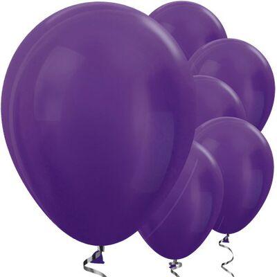 Metalik Mor 100 lü Latex Balon