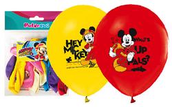 Parti Dünyası - Mickey Mouse 12 li Latex Balon