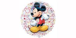 Parti Dünyası - Mickey Mouse Folyo Balon 45 cm