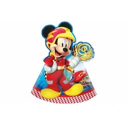 Procos - Mickey Parti Şapkası 6 Adet