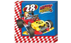 Parti Dünyası - Mickey Roadster Peçete 33x33 cm 20 Adet