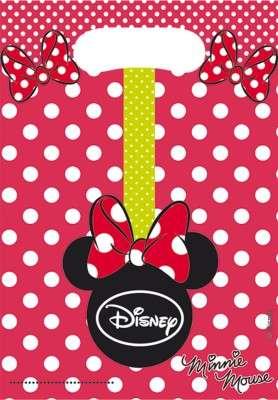 Minnie Mouse Puanlı Hediye Poşeti