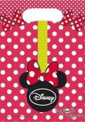 Parti Dünyası - Minnie Mouse Puanlı Hediye Poşeti 6 Adet