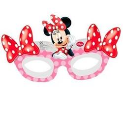 Parti Dünyası - Minnie Mouse Kırmızı 6 lı Maske