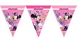 Parti Dünyası - Minnie Mouse Bayrak Afişi 320 cm