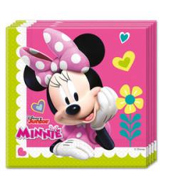 Parti Dünyası - Minnie Mouse Junior 20 li Kağıt Peçete