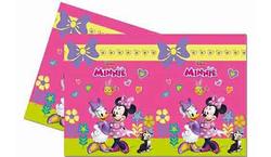 Parti Dünyası - Minnie Mouse Junior Plastik Masa Örtüsü 120 x 180 cm