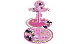 Parti Dünyası - Minnie Mouse Pembe CupCake Standı