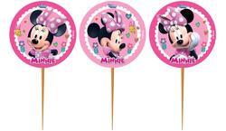 Parti Dünyası - Minnie Mouse Pembe Kürdan Seti 10 Adet