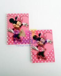 Parti - Minnie Mouse Pembe Not Defteri