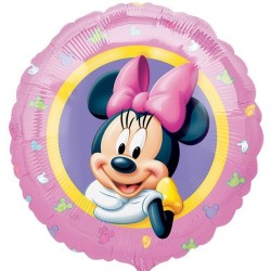 - Minnie Mouse Portre 18 inç Folyo Balon