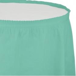 - Mint Yeşili Masa Eteği