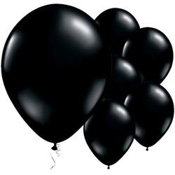Parti Dünyası - Mirror Krom Balon Siyah Renk 50 Adet