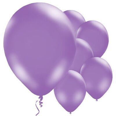 Mor Balon 10 Adet