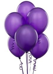 Parti Dünyası - Mor 100 Lü Latex Balon