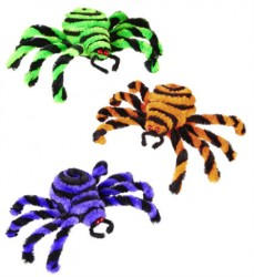 Parti Dünyası - Mor-Turuncu-Yeşil Örümcek 15 cm