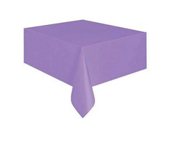 Parti Dünyası - Lila Renk Plastik Masa Örtüsü 137 x 183 cm
