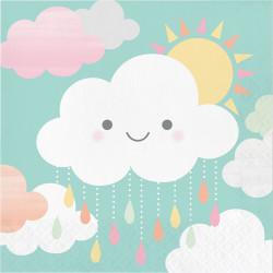 Parti Dünyası - Mutlu Bulutlar 16 lı Peçete