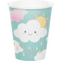 Parti Dünyası - Mutlu Bulutlar 8 li Bardak