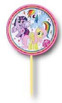 Parti Dünyası - My Little Pony Rainbow 6 lı Kürdan