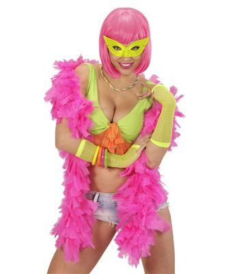 Neon Renklerde Kedi Gözü Unisex Maske