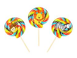 Parti Dünyası - Neşeli Safari 10 lu Lolipop