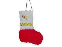 Parti Dünyası - Noel Baba Çorabı Şekilli Pinyata