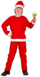 Parti Dünyası - Noel Baba Çocuk Kostümü 3-4 Yaş