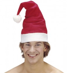 - Noel Baba Şapkası Elyaf
