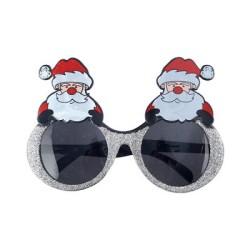 Parti Dünyası - Noel Baba Simli Gözlük