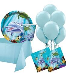 Parti Dünyası - Okyanus Partisi 8 lı Parti Seti