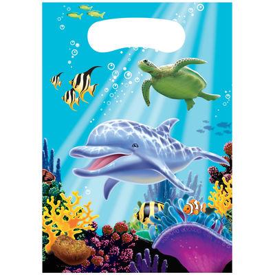 Okyanus Partisi Hediye Poşeti 8 Adet